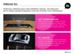 Porsche<br>Holograms &#038; LEDs