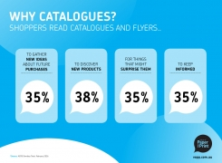 Why Catalogues?<Br>Shoppers read catalogues and flyers..